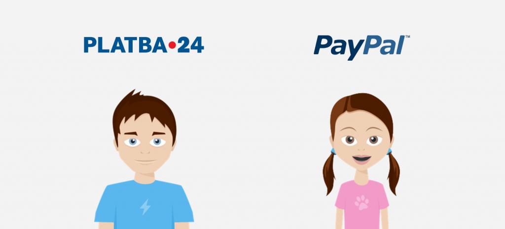 GoPay - nove platby