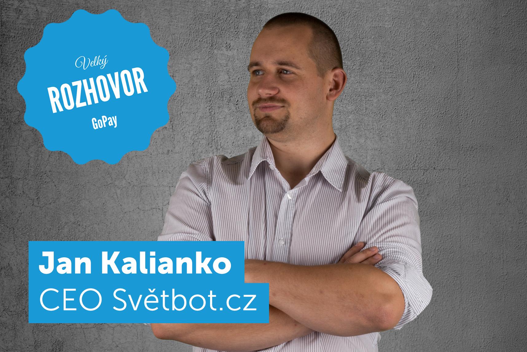 Jan Kalianko rozhovor
