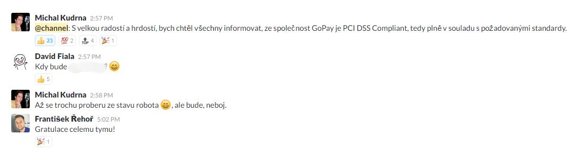 GoPay PCI DSS