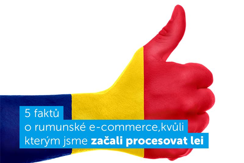 rumunsko ecommerce lei