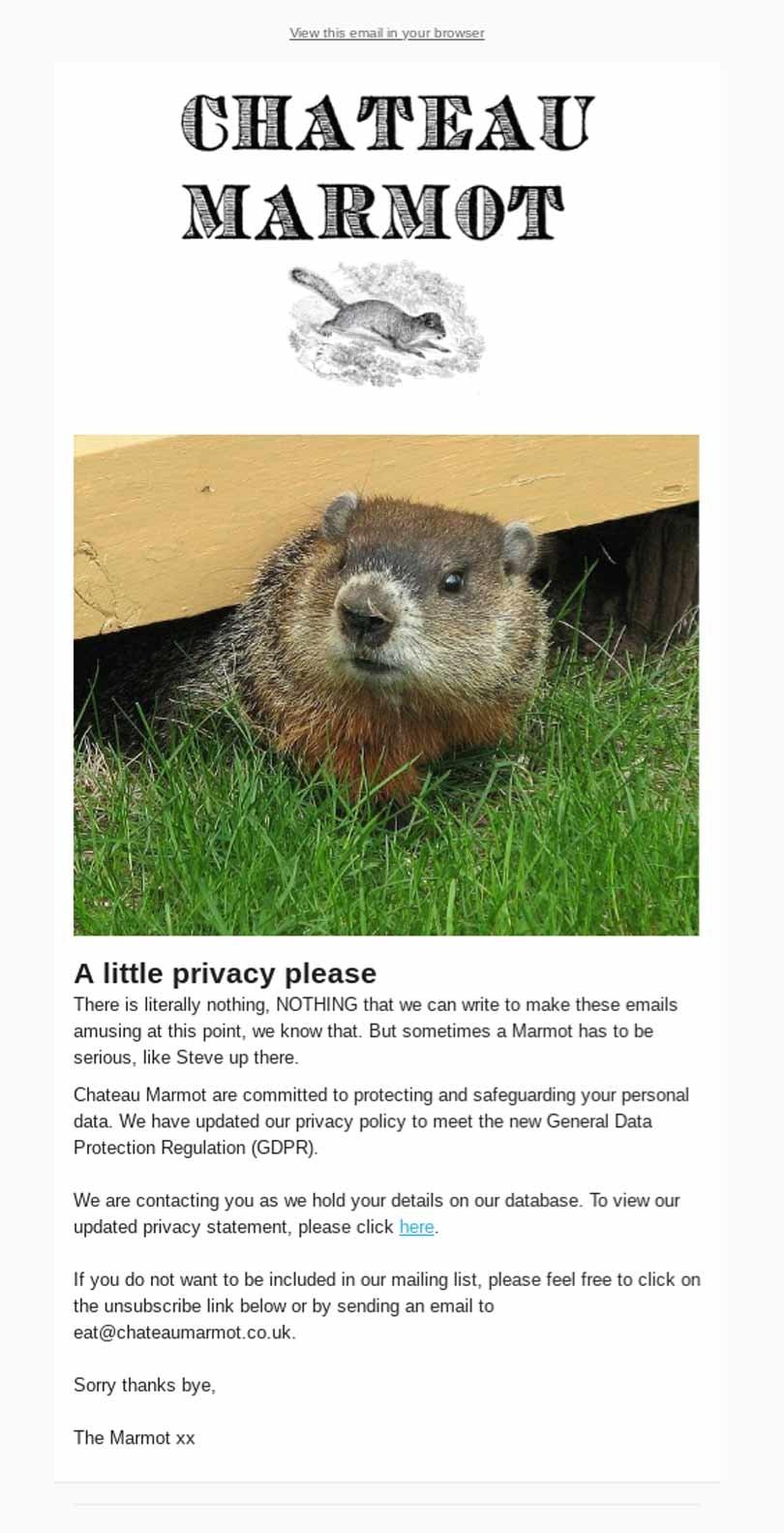 gdpr e-maily