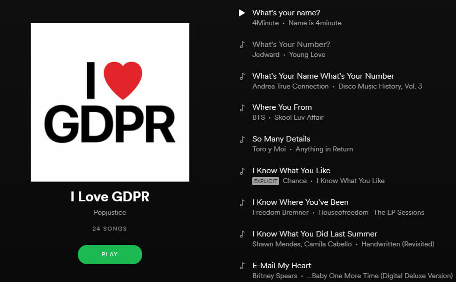 gdpr emaily