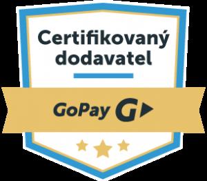 certifikovaný dodavatel gopay